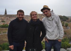 Un domingo en Toledo con Leo y OLivier