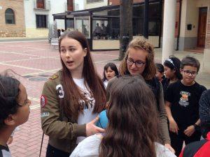 Actividades durante la semana Europea de la juventud