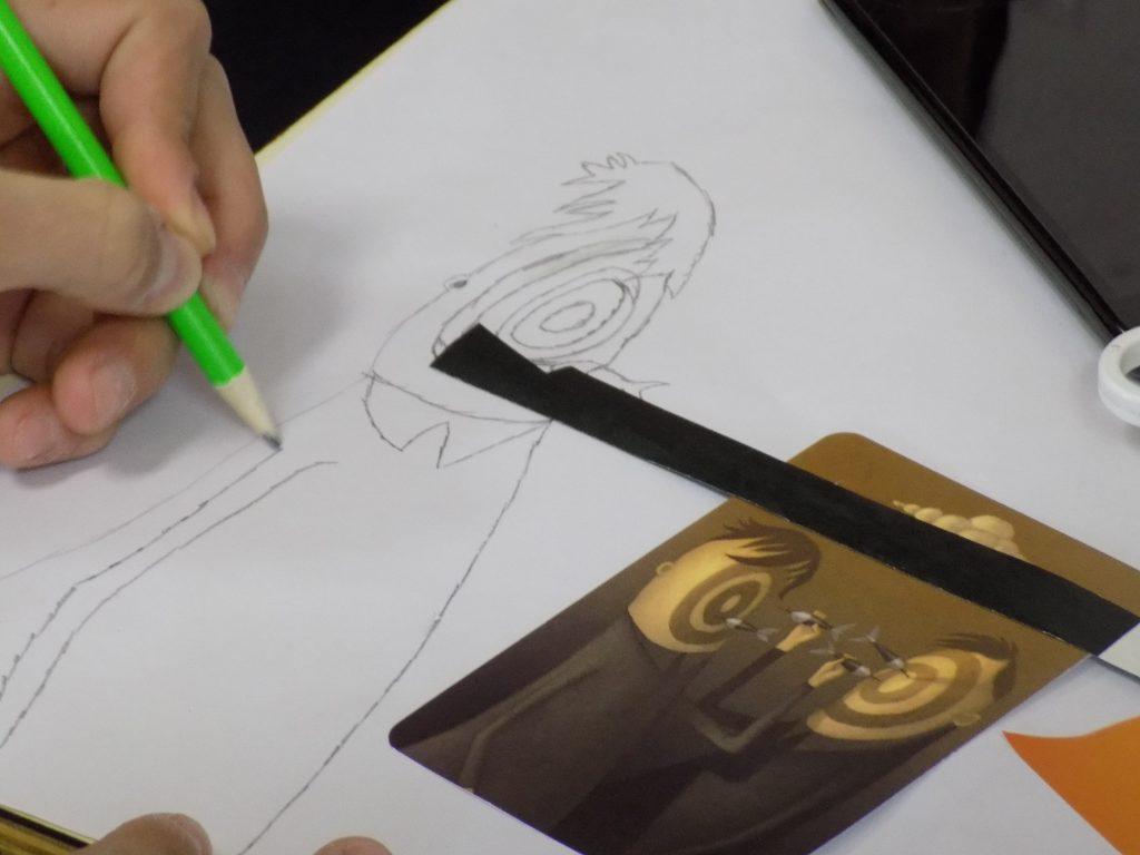 Creación de la identidad visual del festival por los jóvenes en el Centro Jóven de Numancia de La Sagra
